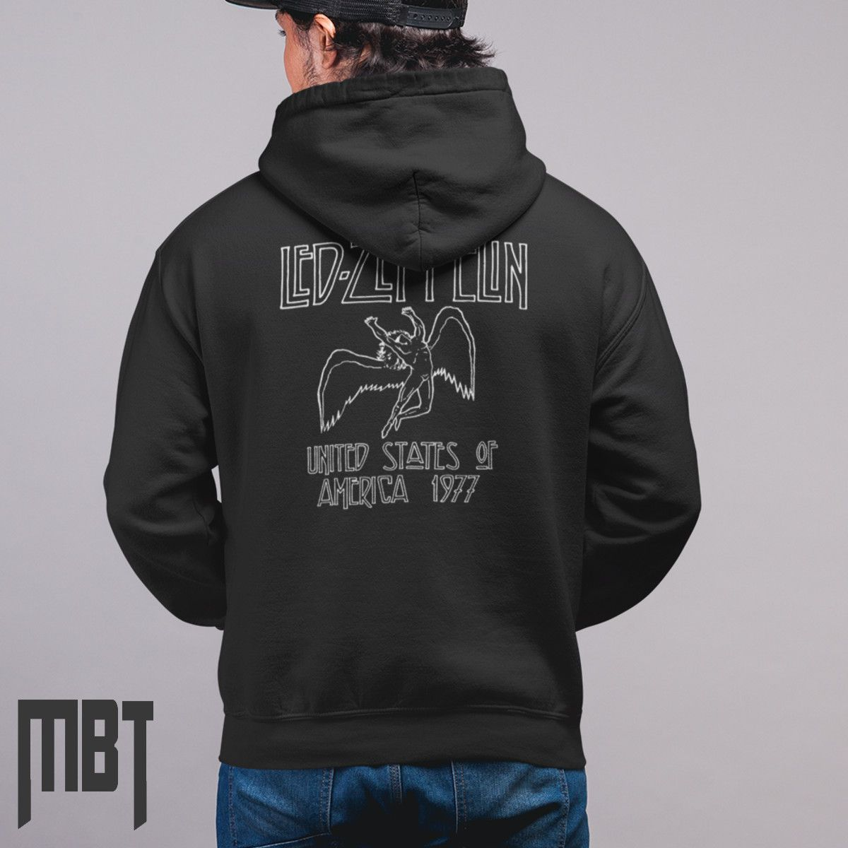 cf9fe0e4e90 Led zeppelin band hoodie led zeppelin usa logo hooded jpg 1200x1200 Led  zeppelin sweatshirt