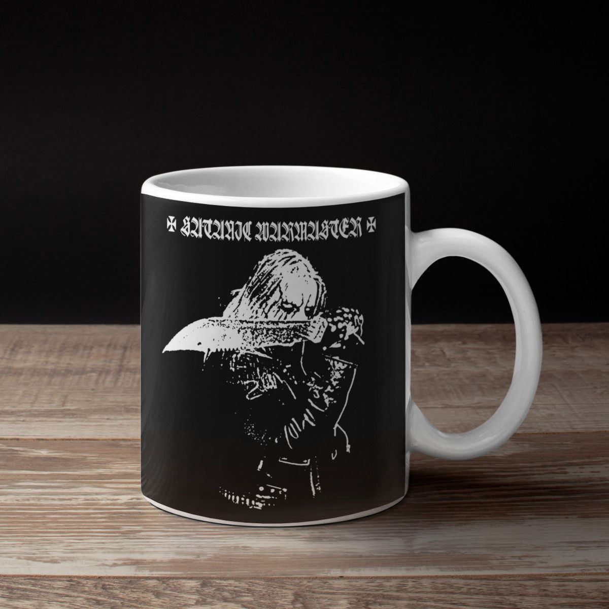 Satanic Warmaster We Are The Worms Coffee Mug