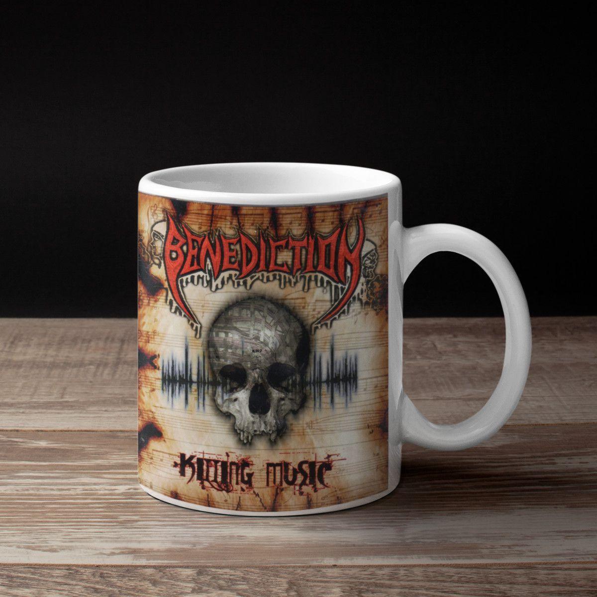 Benediction Band Coffee Mug, Benediction Killing Music ...